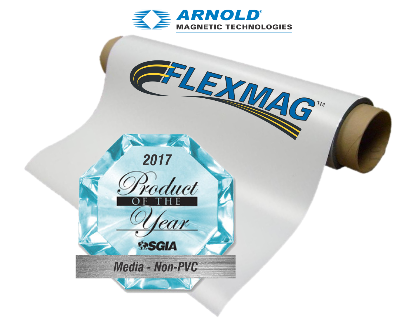 Arnold Magnetic Technologies Flexmag Wins SGIA Product of the Year 2017.png